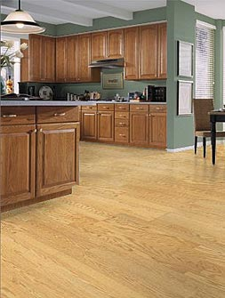 wood laminate kitchen floor